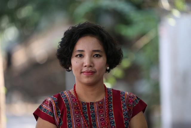 Myanmar programme director for US-based think tank Project 2049 Institute Cheery Zahau. (Supplied)