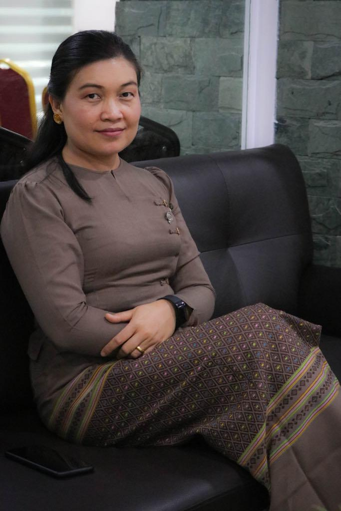 Gender Equality Network director May Sabe Phyu. (Supplied)